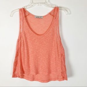 Chloe K Cropped Tank Size Small